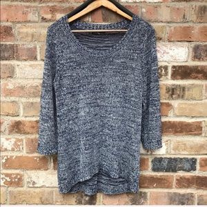 Cable & Gauge Navy Sweater Size XL